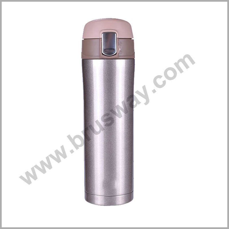 17oz Branded Stainless Steel Vacuum Flask Insulated Water Bottle BW-00123