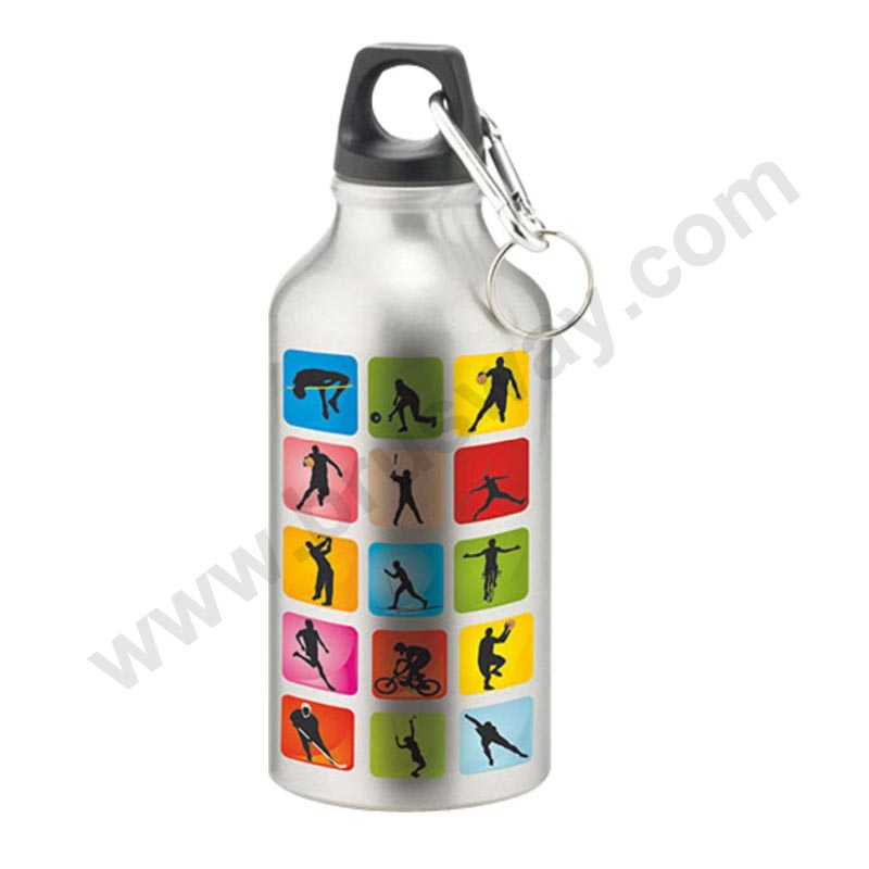 500ml and 600ml Aluminium alloy sports bottle mug