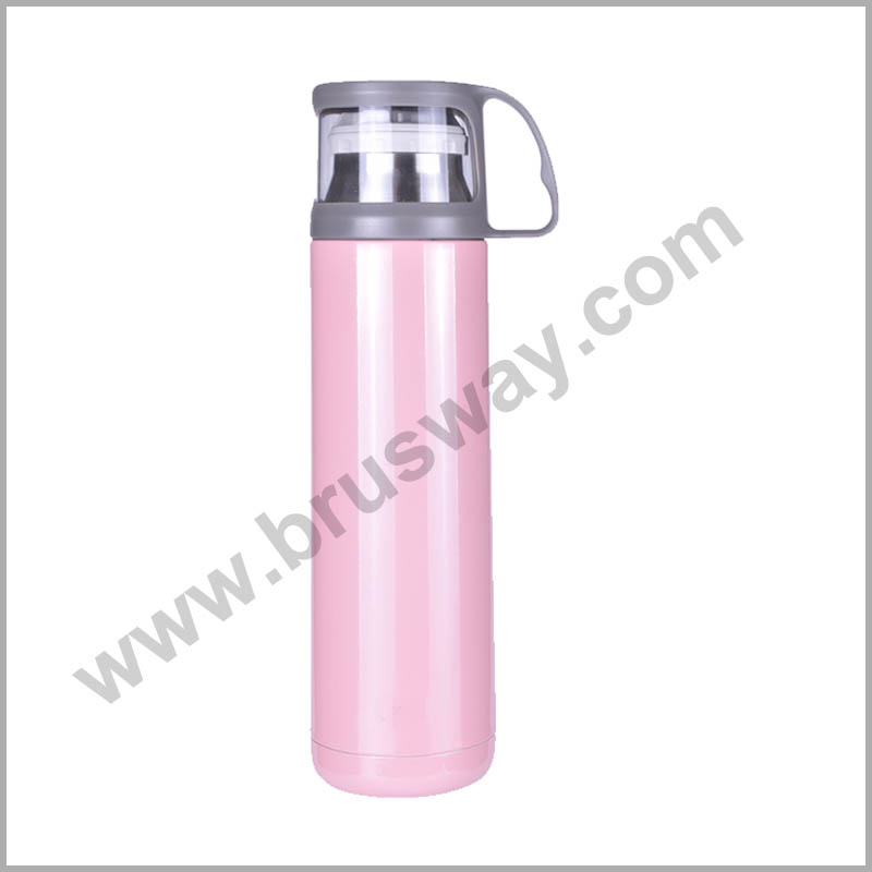 500ml food grade stainless steel double wall thermal vacuum flask BW-00124