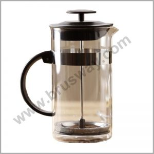 Black Heat-resistant stainless steel french press coffee maker BW-00133