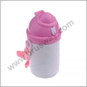Clear plastic material kids child sport bottle BW-00161