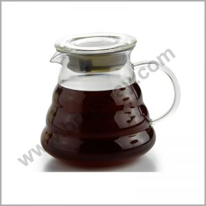Personalized Pyrex Glass Arabic Turkish Coffee Pot with Handle BW-00130