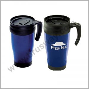 Wholesale Double Wall Plastic Coffee Travel Thermos BW-00116