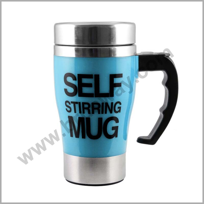 Wholesale Stainless Steel Self Stirring Coffee Mug BW-00112