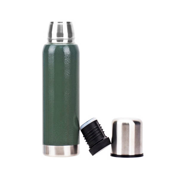 Sports Water Bottle Stainless Steel Vacuum Flask 1L For Outdoors