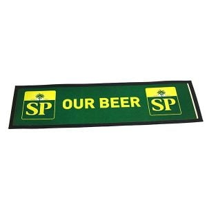 2018 Promotional Customized Bar Mat Bar Accessory Bar Runner