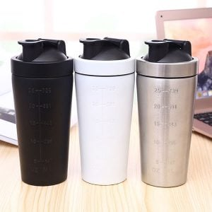 2018 OEM Private Label BPA Free Stainless Steel Shaker Bottle