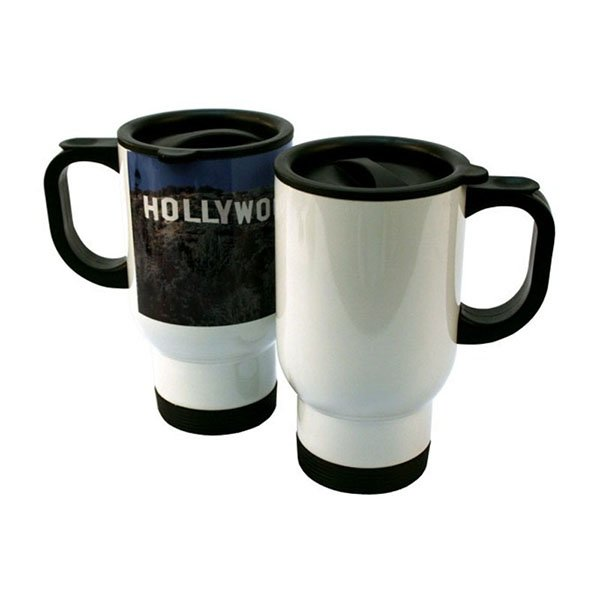 Sublimation DIY Stainless Steel Travel Mug Heat Press