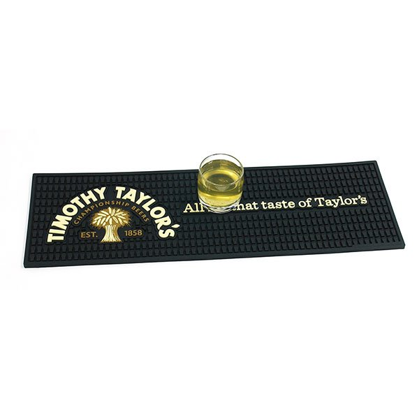 Colorful Promotional Soft Rubber PVC Bar Mat