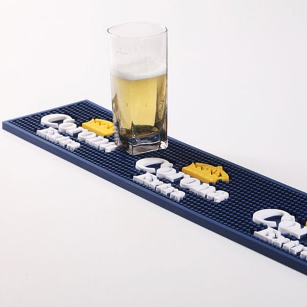 Custom Branded 100% PVC Beer Bar Mat With Logo