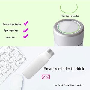 APP Reminder 400ml SS Vacuum Smart Water Bottle