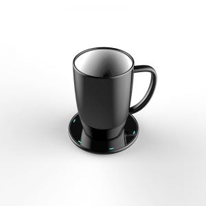 Promotional Smart Qi Wireless Charging Milk Mug With Temperature Control