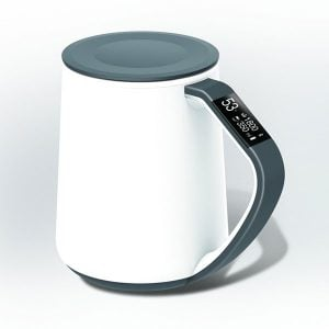 Smart Creative Ceramic Coffee Mugs with LED Display
